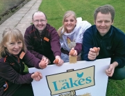 alison mortonstuart crowe fiona bowness saindburys and  mark gaskin lakes free range egg co