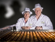 David and Helen Brass, Poultry Finalists in the Farmers Weekly Awards 2014.
