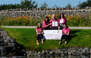 Nonation from lakes Free Range Egg Co to Race For Life
