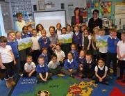 School pupils meet the Lakes team
