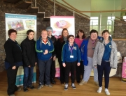 students visit Lakes Free Range Egg co