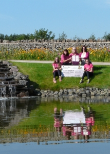 Race For Life Cheque