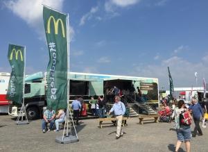 McDonalds VR roadshow