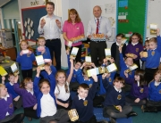 pupils learn about eggs