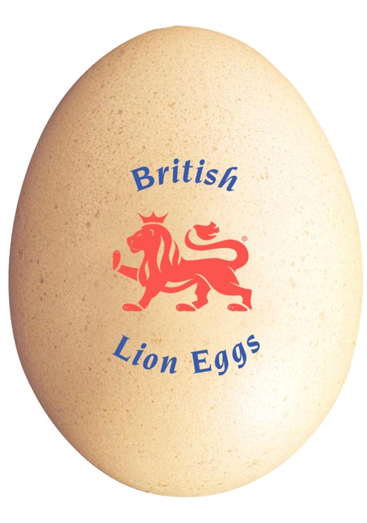British Red Lion Egg